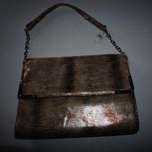 NWT Express Gold Handbag